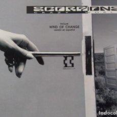 Disques de vinyle: SCORPIONS. CRAZY WORLD. SPAIN 1990.. Lote 248967465