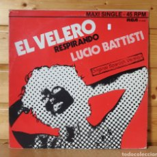 Disques de vinyle: 12 MAXI , LUCIO BATTISTI , EL VELERO. Lote 248971190