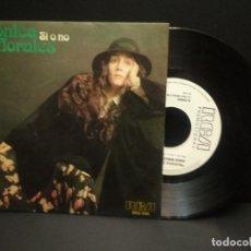Discos de vinilo: MONICA MORALES (SI O NO) SINGLE ESPAÑA 1977 PROMO RCA PEPETO. Lote 248973680
