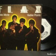 Discos de vinilo: FLAX, SINGLE , PUEDES MENTIR + 1, AÑO 1980 PROMO MOVIE PLAY PEPETO. Lote 248977840