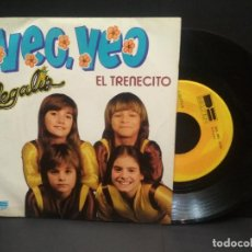 Discos de vinilo: REGALIZ - VEO VEO (SINGLE BELTER 1981 SPAIN) PEPETO. Lote 248980000