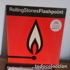 Discos de vinilo: ROLLING STONES - FLASH POINT - CON LIBRETO INTERIOR - 1991 - LP. Lote 225883195