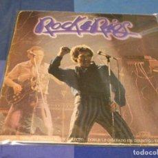 Discos de vinilo: EXPRO DOBLE LP MIGUEL RIOS ROCK AND RIOS TAPA CASTIGADA LOMO MAL VINILOS ACEPTABLE. Lote 249005360