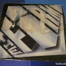 Discos de vinilo: EXPRO LP THE FIRM HOMONIMO TAPA ESTROPEADA ESTADO CORRECTO DE VINILO. Lote 249006690