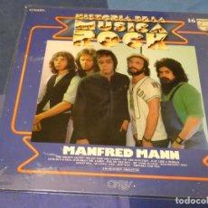 Discos de vinilo: EXPRO LP HISTORIA DE LA MUSICA ROCK 16 ORBIS MANFRED MANN BUEN ESTADO GENERAL. Lote 249007150