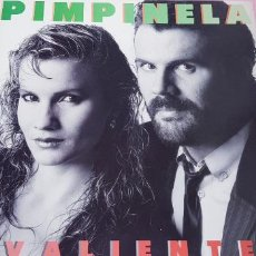 Discos de vinilo: LP-PIMPINELA-VALIENTE-EPIC-1987-10 TEMAS-PIENSO QUE NUEVOO SIMILAR-NO SE VE USADO-COLECCIONISTAS. Lote 249007170