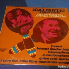 Discos de vinilo: EXPRO LP XAVIER CUGAT CHICHO MENDOZA CALIENTE ESPAÑA 74 ESTADO DECENT DE VINILO. Lote 249009230