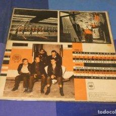 Discos de vinilo: EXPRO LP MEN AT WORK BUSINESS AS USUAL VINILO ALGO SOBADO PROMO WHITE LABEL. Lote 249011595