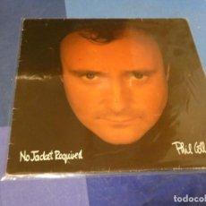 Discos de vinilo: EXPRO LP PHIL COLLINS NO JACKET REQUIRED ESPAÑA 85 BUEN ESTADO DE VINILO PROMOCIONAL 3. Lote 249013505