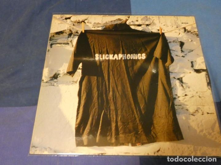 EXPRO LP ALEMANIA 1983 SLICKAPHONICS HOMONIMO ENJA RECORDS MUY BUEN ESTADO GENERAL (Música - Discos - LP Vinilo - Pop - Rock - Internacional de los 70)