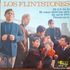 Discos de vinilo: EP / LOS FLINTSTONES / HI LI LI-HI LO - EL AMOR TIENE TUS OJOS - DE MI TE IRAS - PIENSO EN TI, 1966. Lote 249018210
