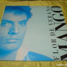 Disques de vinyle: MANGO. FLOR DE VERANO. MAXI-SINGLE. ARIOLA, 1987 (#). Lote 249026455