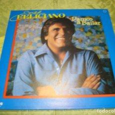 Discos de vinilo: JOSE FELICIANO. VAMOS A BAILAR. MAXI-SINGLE. PROMOCIONAL. RCA, 1985. IMPECABLE (#). Lote 249031135