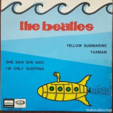 Discos de vinilo: EP / THE BEATLES / YELLOW SUBMARINE - TAXMAN - SHE SAID SHE SAID - I'M ONLY SLEEPING, 1966. Lote 249034720
