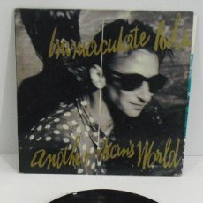 Disques de vinyle: INMACULATE FOLS ANOTHER MAN´S WORLS. Lote 249044490