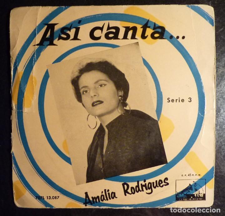 AMALIA RODRIGUES // FALLASTE CORAZON+3 // EP (Música - Discos de Vinilo - EPs - Cantautores Internacionales)