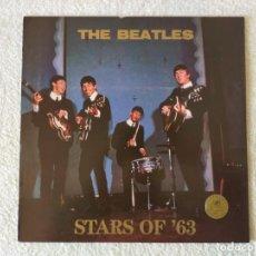 Discos de vinilo: THE BEATLES: STARS OF´63 - LP. THE SWINGIN´PIG RECORDS 1989 - VINILO AZUL. Lote 249055030