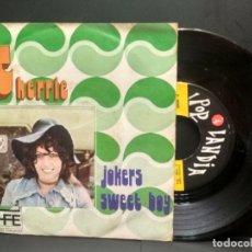 Discos de vinilo: CHERRIE - JOKERS / SWEET BOY ( SINGLE 1974 ) PEPETO. Lote 249071305