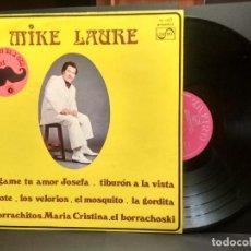 Discos de vinilo: MIKE LAURE LP ZAFIRO MUSART 1977 - EL BIGOTE - LATIN CUMBIA PEPETO. Lote 249073845
