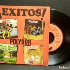 Discos de vinilo: EP EXITOS POLYDOR 1974- DANIEL VELAZQUEZ + LOS PUNTOS + DANNY DANIEL + NOEL SOTO PEPETO. Lote 249074110