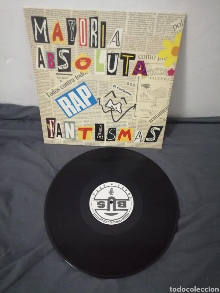 Discos de vinilo: MAYORÍA ABSOLUTA - FANTASMAS - Foto 2 - 249074270