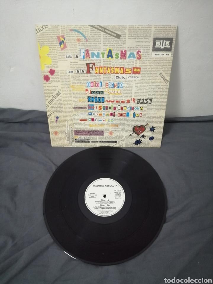 Discos de vinilo: MAYORÍA ABSOLUTA - FANTASMAS - Foto 3 - 249074270