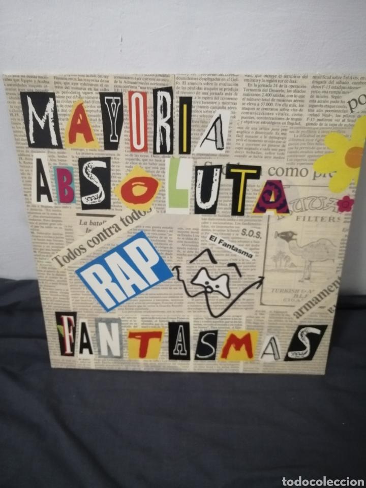 MAYORÍA ABSOLUTA - FANTASMAS (Música - Discos de Vinilo - Maxi Singles - Rap / Hip Hop)