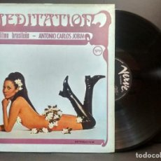 Discos de vinilo: ANTONIO CARLOS JOBIM –MEDITATION RITMO BRASILEÑO LP VERVE 1969 PEPETO. Lote 249074595