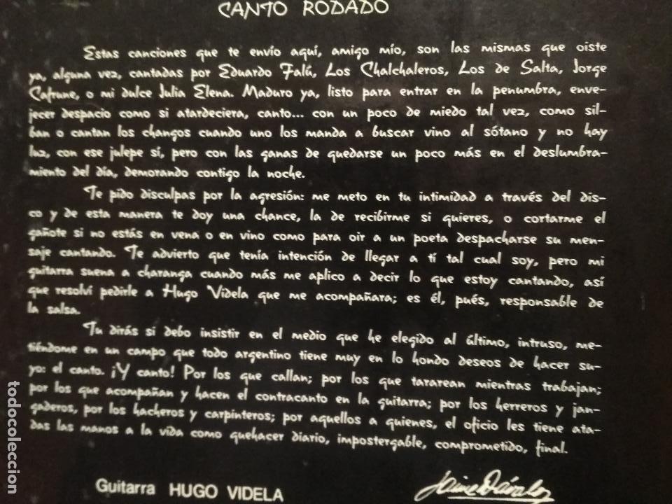 Discos de vinilo: JAIME DAVALOS POEMAS Y CANCIONES LP MICROTON 1974 PEPETO - Foto 2 - 249076720