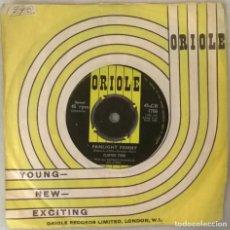 Discos de vinilo: CLINTON FORD. DREAMY CITY LULLABY/ FANLIGHT FANNY. ORIOLE, UK 1962 SINGLE. Lote 249086445