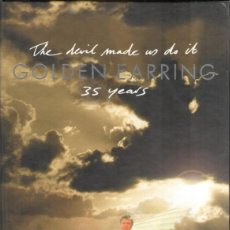Discos de vinilo: GOLDEN EARRING – THE DEVIL MADE US DO IT 35 YEARS / LIMITED EDITION. Lote 249106610