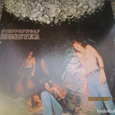 Discos de vinilo: STEPPENWOLF - MONSTER LP - ORIGINAL U.S.A. - DUNHILL RECORDS 1969 - GATEFOLD Y FUNDA INT ORIGINAL. Lote 249141230