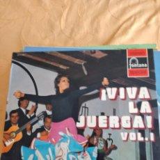 Discos de vinilo: B-4 DISCO VINILO 12 PULGADAS VIVA LA JUERGA VOL 1. Lote 249145880