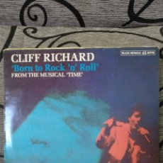 Discos de vinilo: CLIFF RICHARD - BORN TO ROCKN ROLL. Lote 249147010