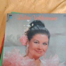 Discos de vinilo: B-4 DISCO VINILO 12 PULGADAS LOLITA VALDERRAMA ARTE DUENDE Y SENTIMIENTO. Lote 249174400