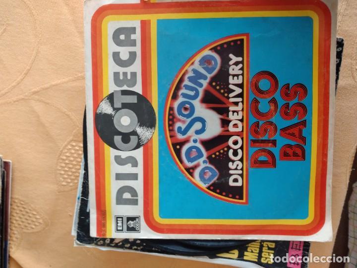 Discos de vinilo: B-5 DISCO VINILO 7 PULGADAS DISCOTECA D. D. SOUND DISCO ROTO - Foto 2 - 249175970
