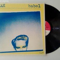 Discos de vinilo: MAX LP BABEL 1978 GATEFOLD VG+ JAZZ ROCK PROGRESIVO. Lote 249182090