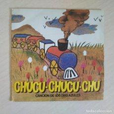 Discos de vinilo: DISCO SINGLE PUBLICITARIO CAFES CHUCU-CHUCU-CHU CANCION DE LOS DIAS AZULES DE RENFE AÑO 1981. Lote 249188615