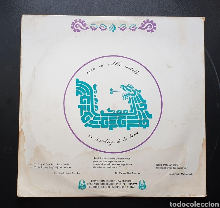 Discos de vinilo: LP LUIS PEREZ & MEXICO MAGICO COSMICO - En el ombligo de la luna (México - ISSSTE/Privado - 1981) - Foto 2 - 249199450