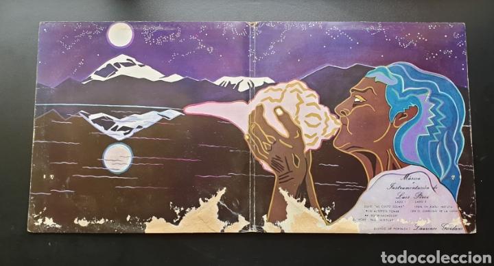 Discos de vinilo: LP LUIS PEREZ & MEXICO MAGICO COSMICO - En el ombligo de la luna (México - ISSSTE/Privado - 1981) - Foto 3 - 249199450