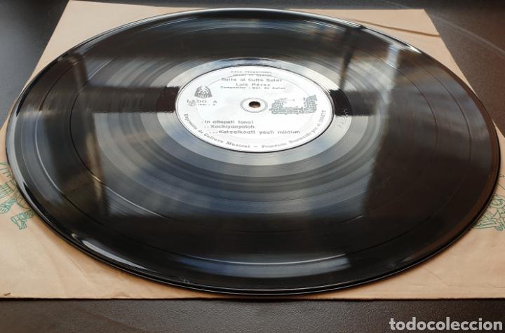 Discos de vinilo: LP LUIS PEREZ & MEXICO MAGICO COSMICO - En el ombligo de la luna (México - ISSSTE/Privado - 1981) - Foto 10 - 249199450