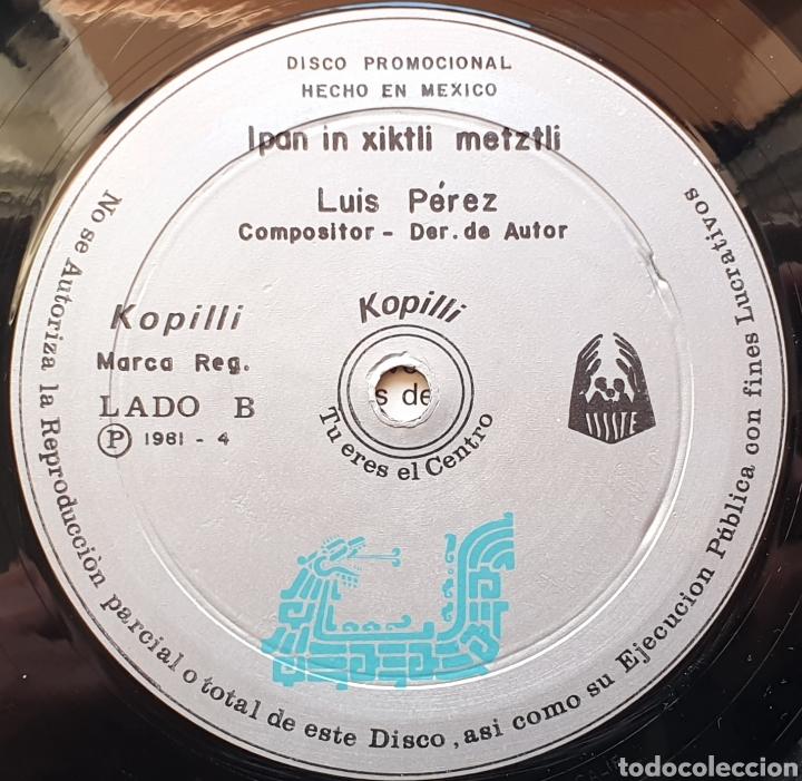 Discos de vinilo: LP LUIS PEREZ & MEXICO MAGICO COSMICO - En el ombligo de la luna (México - ISSSTE/Privado - 1981) - Foto 11 - 249199450