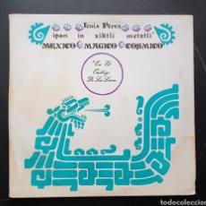 Discos de vinilo: LP LUIS PEREZ & MEXICO MAGICO COSMICO - EN EL OMBLIGO DE LA LUNA (MÉXICO - ISSSTE/PRIVADO - 1981). Lote 249199450