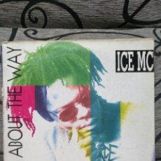 Discos de vinilo: ICE MC - THINK ABOUT THE WAY. Lote 276747068