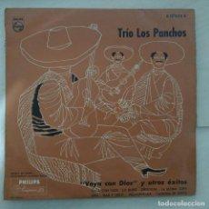 Discos de vinilo: TRIO LOS PANCHOS - VAYA CON DIOS Y OTROS EXITOS MINI LP 10'' 25 CTMS 1956 EDICION ESPAÑOLA SPAIN. Lote 249213345