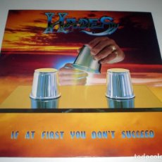 Discos de vinilo: LP HADES - IF AT FIRST YOU DON´T SUCCEED. Lote 107297891