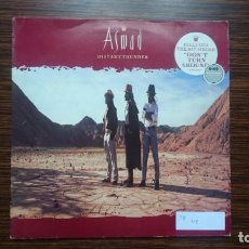Discos de vinilo: ASWAD - DISTANT THUNDER LP 1988 ISLAND RECORDS. Lote 249236110