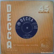 Discos de vinilo: TED HEATH & HIS MUSIC. SUCU SUCU/ CHARMAINE CHA CHA. DECCA, UK 1961 SINGLE. Lote 249245665