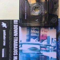Discos de vinilo: CASETE - DJ DOWN TRABAJOS MANUALES - HIP HOP. Lote 249246855
