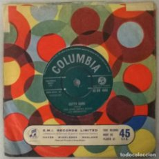 Discos de vinilo: THE JOHN BARRY SEVEN. LOST PATROL/ CUTTY SARK. COLUMBIA, UK 1962 SINGLE. Lote 249250585